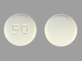 50 Pill Images (White / Round)
