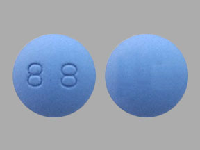 88 Blue And Round - Pill Identification Wizard   Drugs.com
