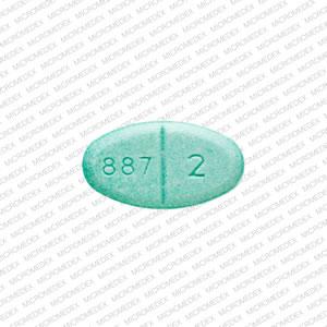 B 887 2 Pill - estradiol 2 mg