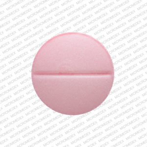 R 33 Pill Images (Pink / Round)