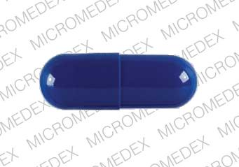 ROCHE XENICAL 120 Pill Images Blue  Capsuleshape
