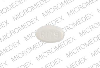 R179 Pill Images (White / Elliptical / Oval)