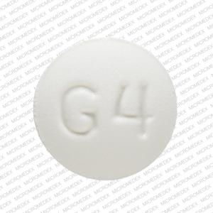 M G4 Pill Images (White / Round)