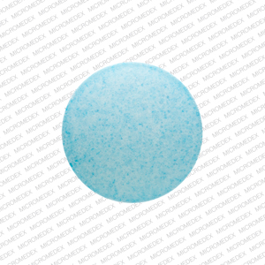 P 20 Pill Images (Blue / Round)