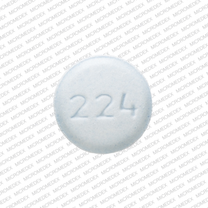 224 Pill Images (Blue / Round)