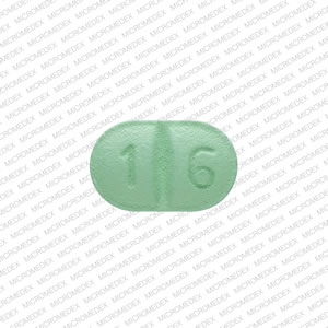 A 16 Pill Images (Green / Capsule-shape)