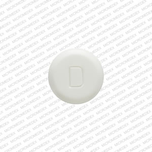 D 500 Pill Images (White / Round)