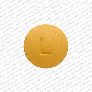 N L Pill Images (Yellow / Round)