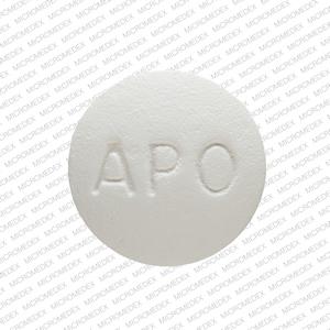 APO QUE 200 Pill Images (White / Round)