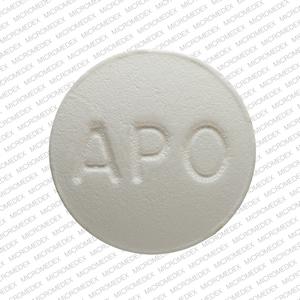 APO OLA 10 Pill Images (White / Round)