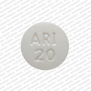 APO ARI 20 Pill Images (White / Round)