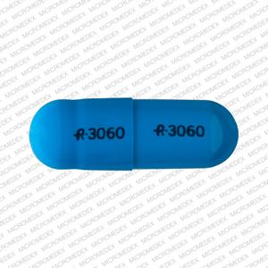 R 3060 R 3060 Pill Images (Blue / Capsule-shape)