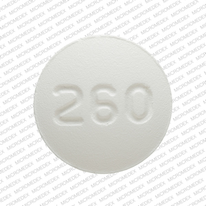 260 White and Round Pill Images - Pill Identifier - Drugs.com