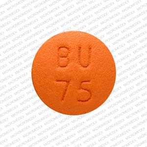 APO BU 75 Pill Images (Orange / Round)