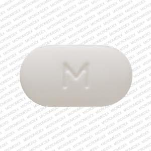 M A33 Pill Images (White / Capsule-shape)