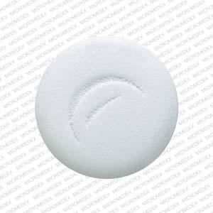 Logo (Actavis) 453 Pill Images (White / Round)