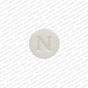 N 4 Pill Images (White / Round)