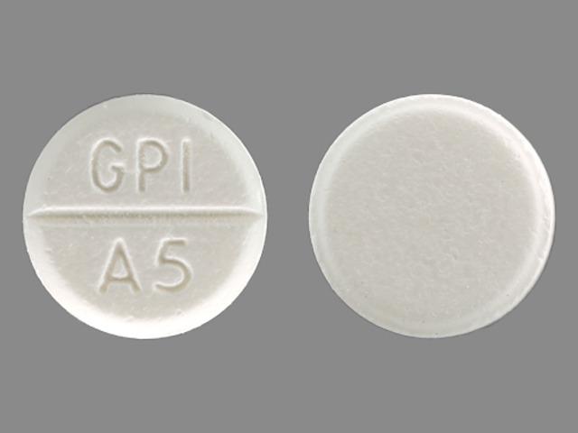 Gpi a5 - Pill Identification Wizard   Drugs.com