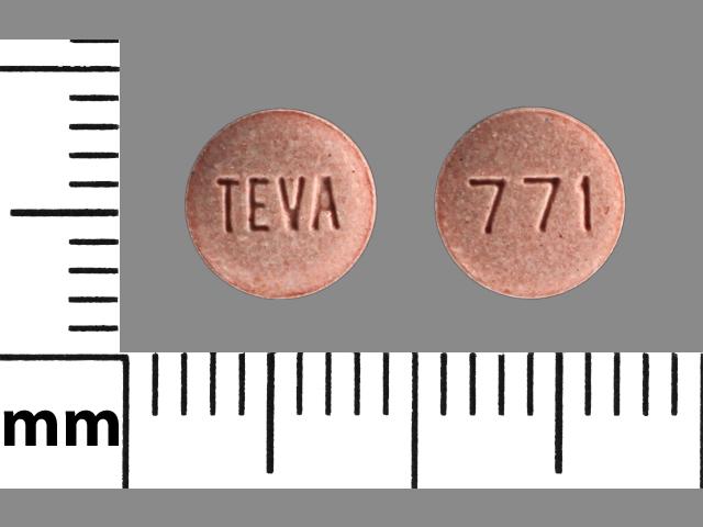 771 TEVA - Pill Identification Wizard | Drugs.com