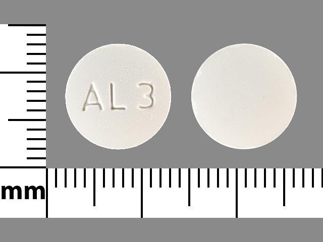 AL 3 Pill Images (White / Round)