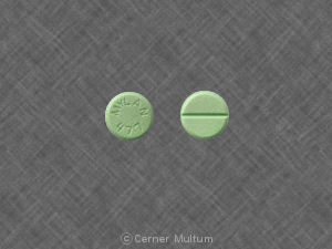MYLAN 477 Pill Images (Green / Round)
