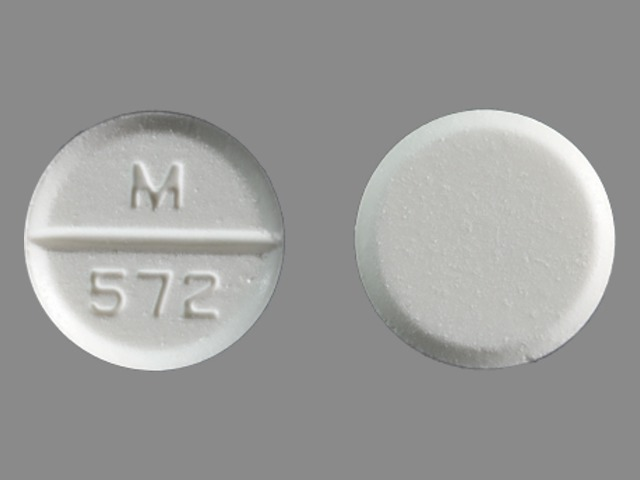 m 572 pill images
