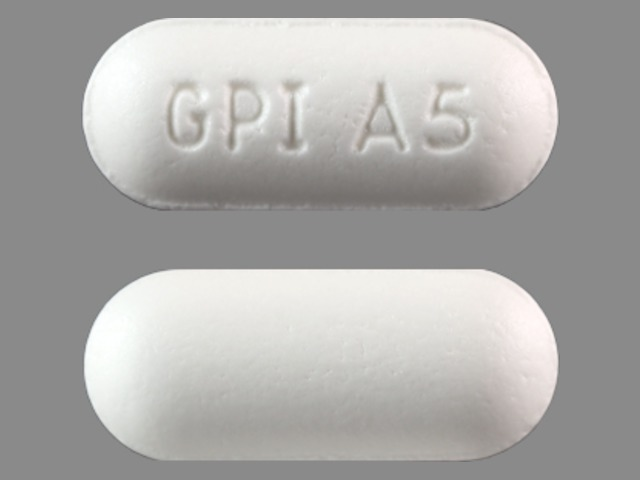 GPI A5 White - Pill Identification Wizard   Drugs.com
