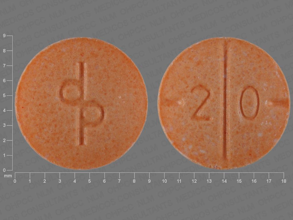 Dp 2 0 Pill Images (Peach / Round)