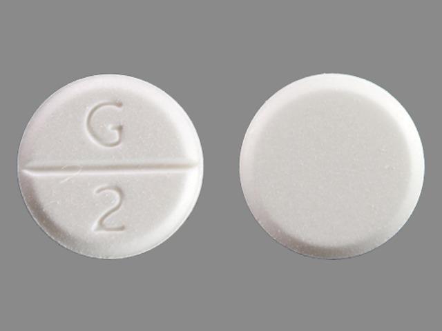 G 2 Pill Images (White / Round)