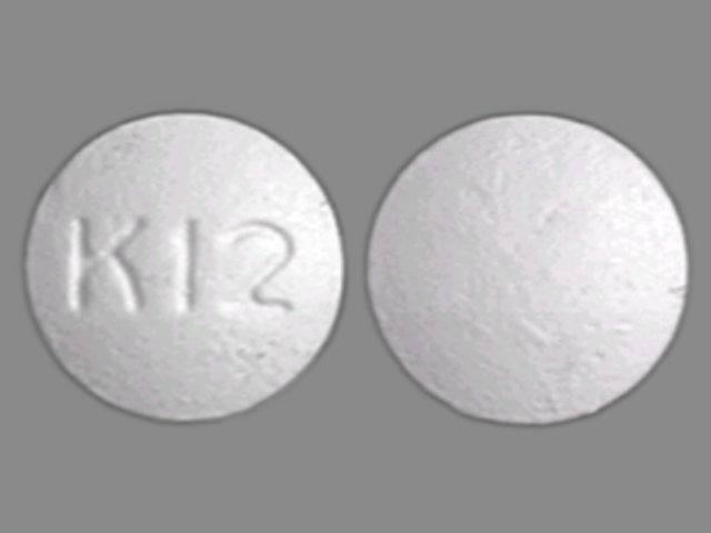K 12 White And Round - Pill Identification Wizard | Drugs.com