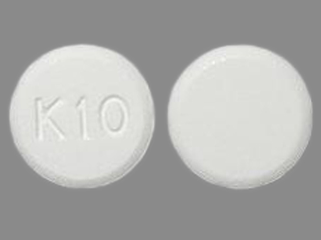 K10 Pill Images (White / Round)