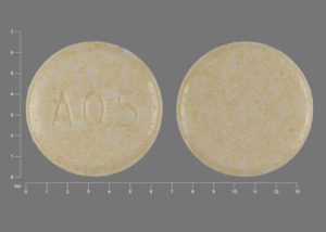 A05 Pill Images (Yellow / Round)