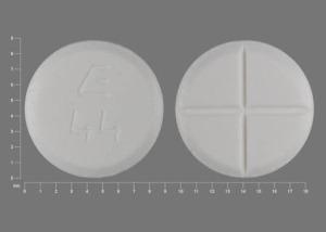 E 44 Pill Images (White / Round)
