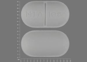 MIA 106 Pill Images (White / Capsule-shape)
