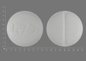 477 Pill Images (White / Round)