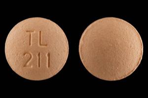 TL 211 Pill Images (Orange / Round)