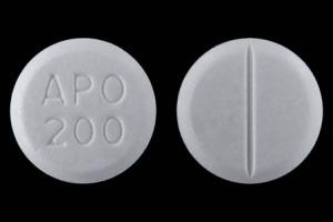 APO 200 Pill Images (White / Round)