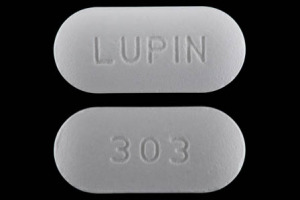 303 LUPIN Pill Images (White / Elliptical / Oval)