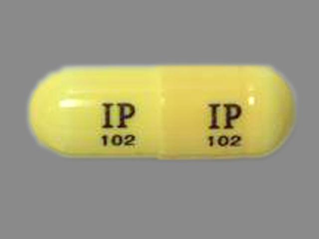 IP 102 IP 102 Pill Images (Beige / Capsule-shape)