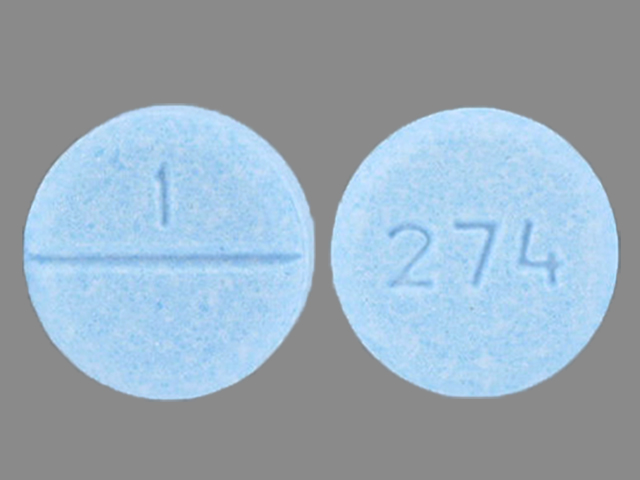 1 274 Pill Images (Blue / Round)