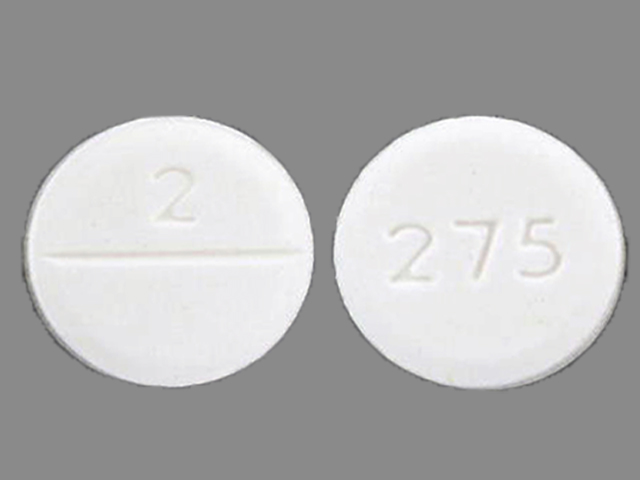 2 275 Pill Images (White / Round)