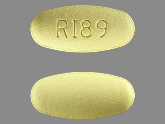 189 Yellow and Capsule-shape - Pill Identification Wizard ...