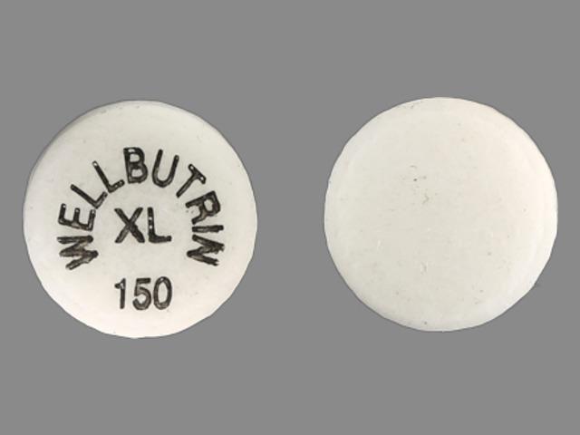 WELLBUTRIN XL 150 Pill Images (Beige / Round)