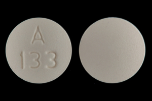 A 133 Pill Images (Yellow / Round)