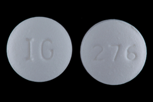 IG 276 Pill Images (White / Round)