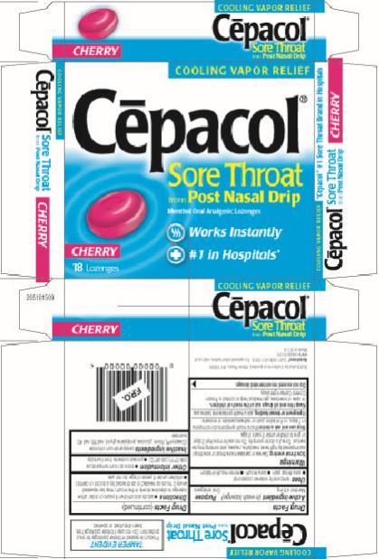 Cepacol Sore Throat from Post Nasal Drip (lozenge) Combe ...