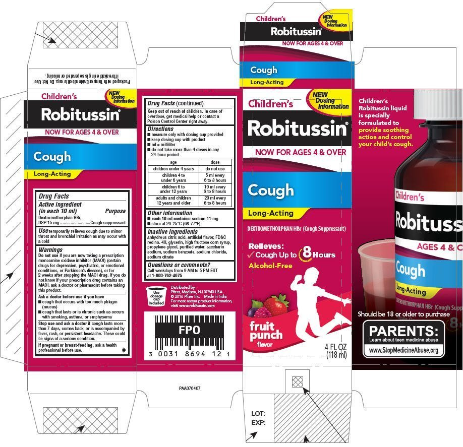Childrens Robitussin Cough Long-Acting (liquid) Richmond ...
