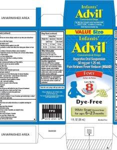 fl oz ml alcohol free also infants advil suspension drops pfizer consumer healthcare rh drugs