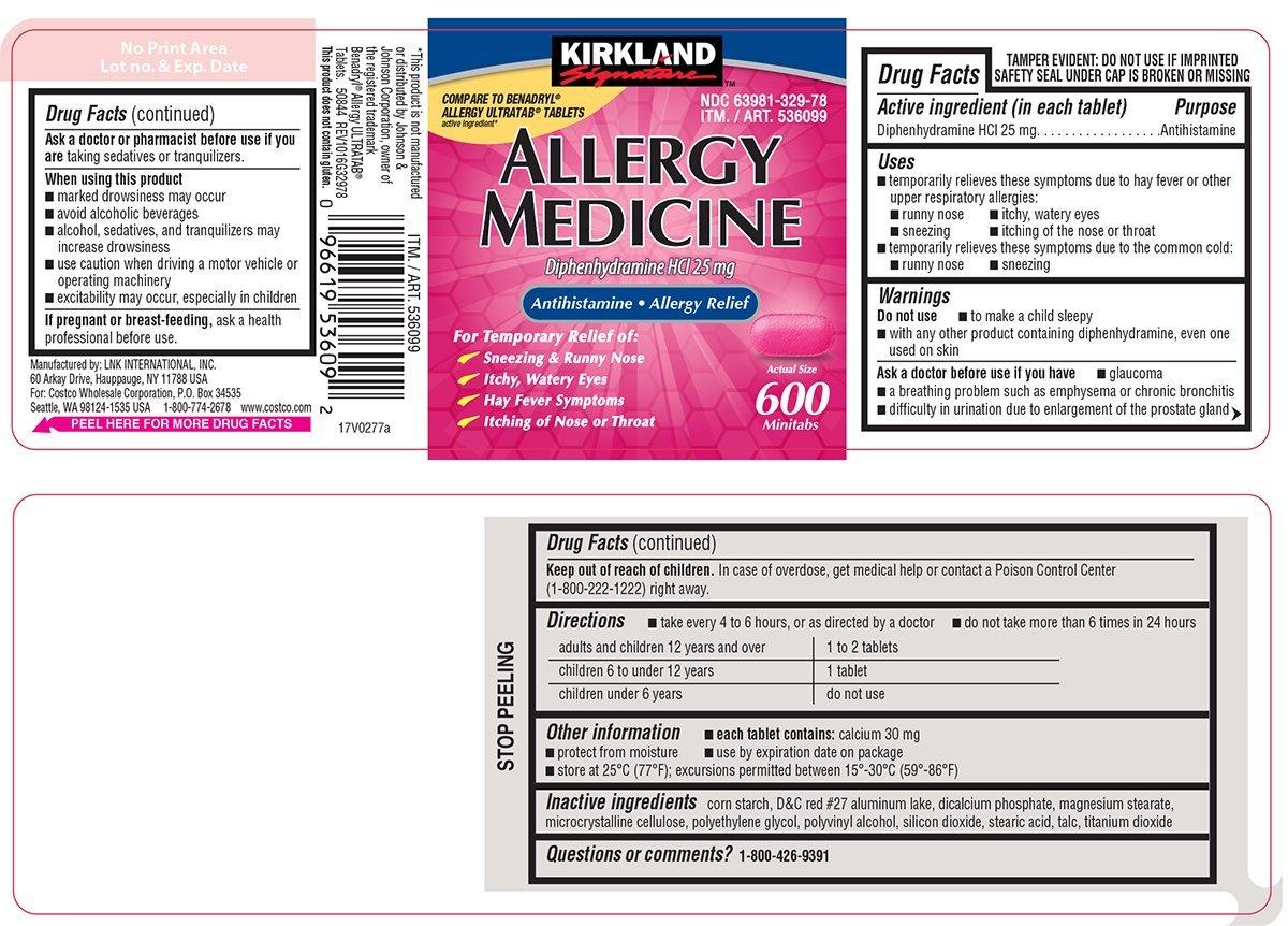 Allergy Medicine Tablet Costco Wholesale Corporation