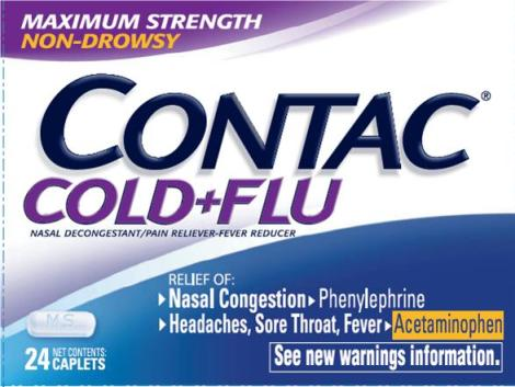 CONTAC (tablet) GlaxoSmithKline Consumer Healthcare LP